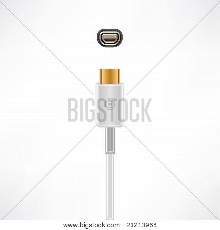 Mini-vga Cable