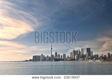 Toronto Skyline During Daytime