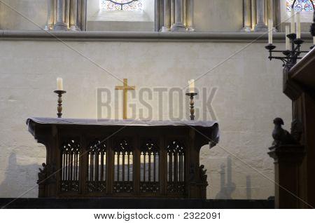 University Of Cambridge, Jesus College, Chapel Altar