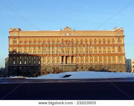 Main Building Of Federal Service Of Security (fsb)