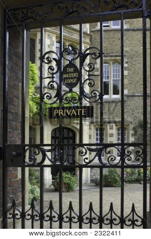 University Of Cambridge, Jesus College, Master'S Lodge (Principal'S Home)
