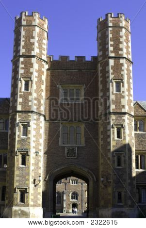 University Of Cambridge, St John'S College Tower