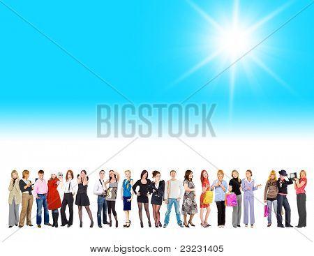 Diversidad del grupo aislado entre nosotros