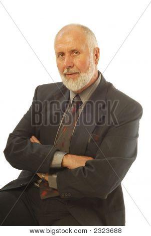 Attractive Older Businessman