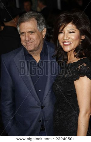 LOS ANGELES - NOV 22: Les Moonves at the Premiere of 'Faster' held at Grauman's Chinese Theater in Los Angeles, California on November 22, 2010