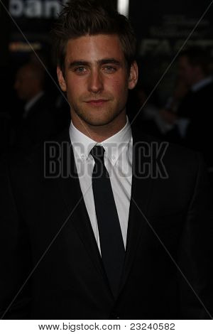 LOS ANGELES - NOV 22: Oliver Jackson-Cohen at the Premiere of 'Faster' held at Grauman's Chinese Theater in Los Angeles, California on November 22, 2010