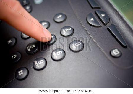 Teclado do telefone