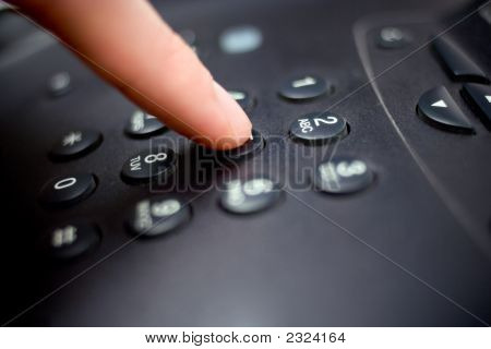 Teclado do telefone