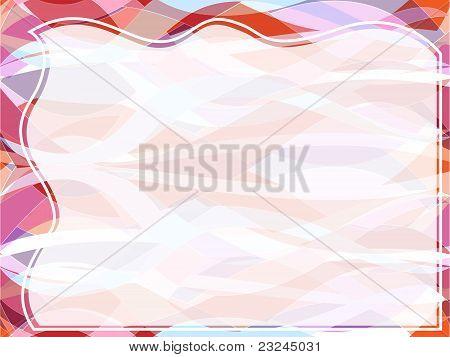Wavy Transparent Retro Slide Background