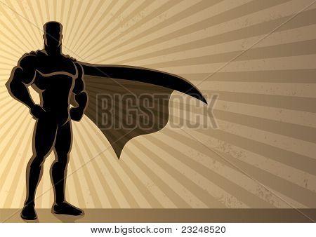 Fondo de superhéroe