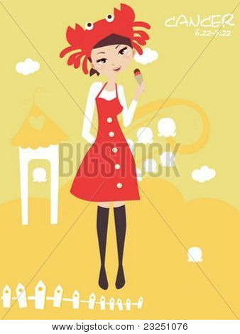 Horoscope cancer cute funny girl