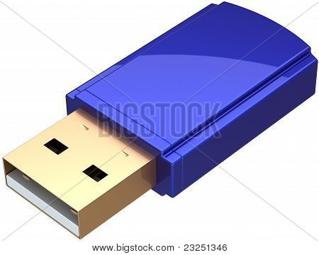 USB Flash drive computer removable memory storage device