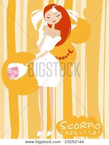 Scorpio bride