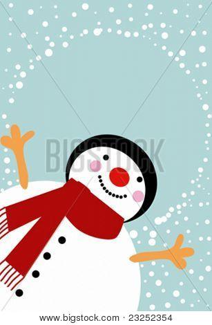 hombre de nieve 2