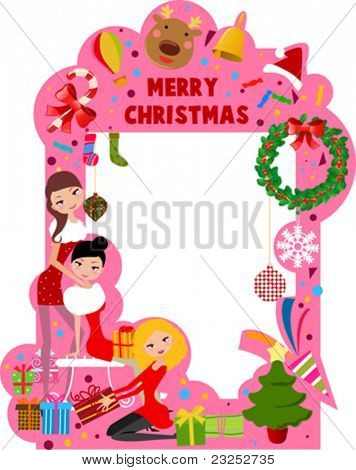 merry christmas frmae 3