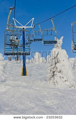 Ski Resort Chairlift