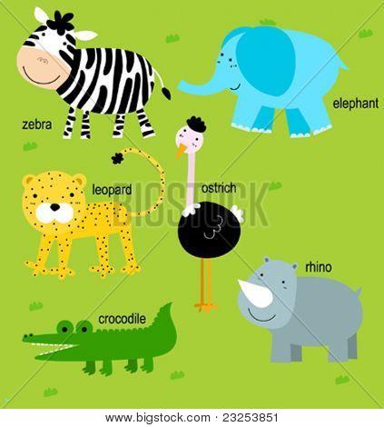 Animal and English