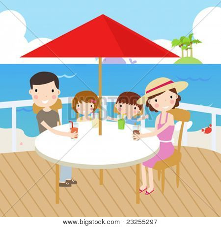 picnic and leisures in family