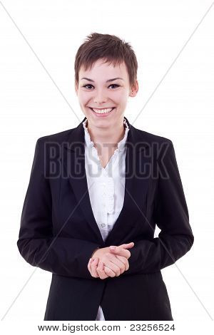 Positive Business Woman