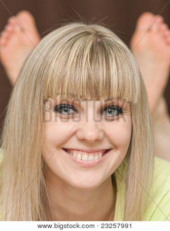 Girl's Face Close Up