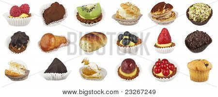 Collage of pastries