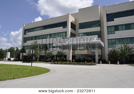 Modern Hospital Exterior