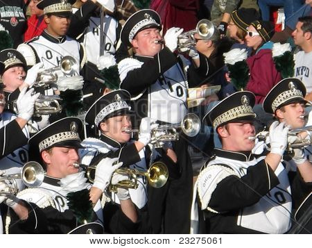 The Ohio University Marching Band