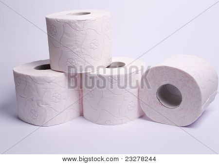 Four Rolls Of Soft Toilet Paper