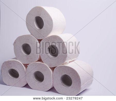 Pyramid Toilet Paper
