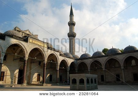 Süleymaniye Mosque Built By Mimar Sinan 2