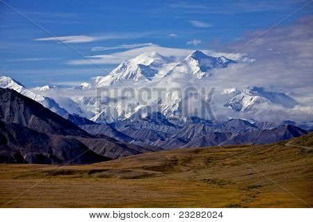 Mount Mckinley In Denali National Park, Alska