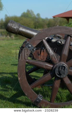 Old Cannon From Napoleonic Wars