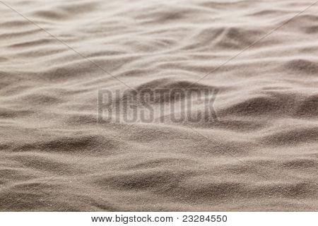 Sand on the beach. Background