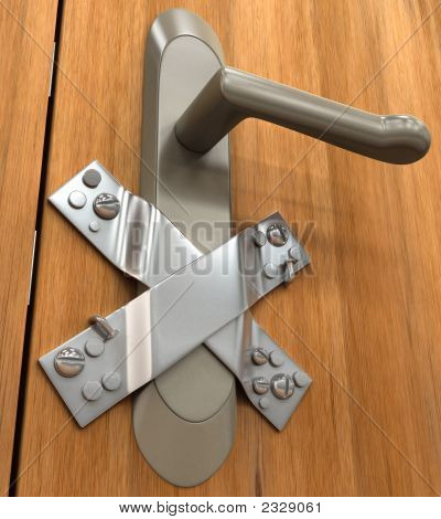 Schlüsselloch / Datenschutz