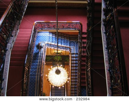Hotel Spiral Stairs