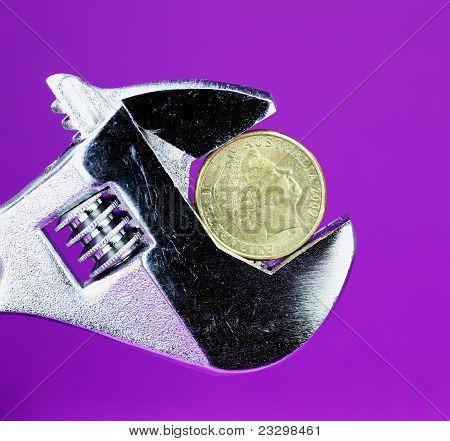 Purple Dollar Squeeze