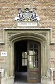 University Of Cambridge, St Mary Magdalene College Doorway To Hall poster