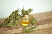 Cannabis Product Oil poster