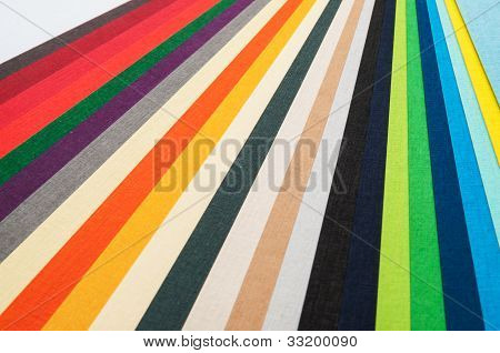 Colored Paper Strips.