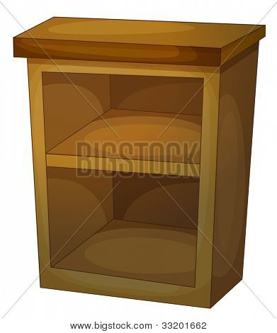 Illustration of shelves for a kitchen - EPS VECTOR format also available in my portfolio.