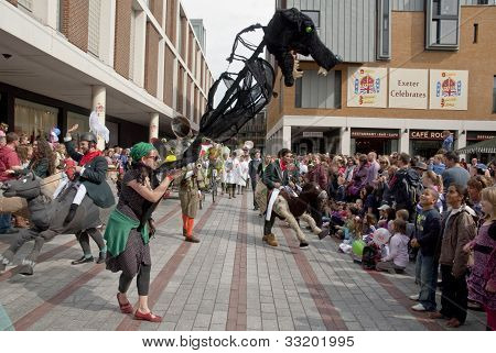 The Forkbeard Fantasy's Battle Of The Wind Parade Is Exeter & Devon's Contribution To The Regional W