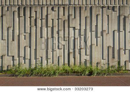 Vorgefertigte Wand.