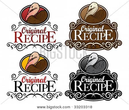 Original Recipe Turkey Version Seal