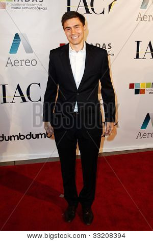 NEW YORK-MAY 17: Ricky Van Veen, cofounder of MTV's College Humor attends the IAC And Aereo Official Internet Week New York HQ Closing Party at IAC HQ on May 17, 2012 in New York City.
