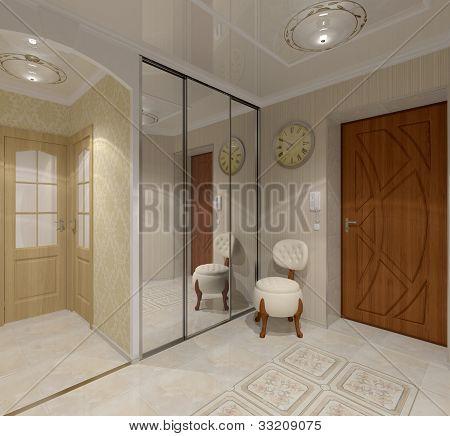 interior  vestibule