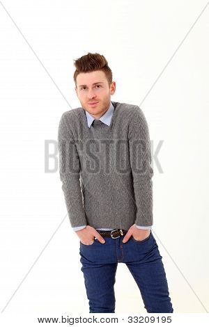 Young Man In Jeans