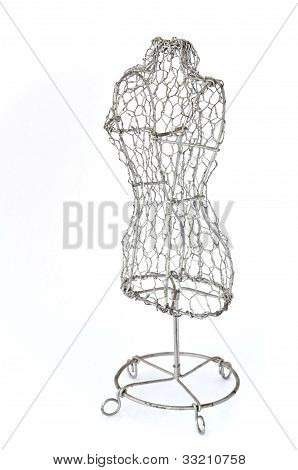 Mannequin Made Of Wire