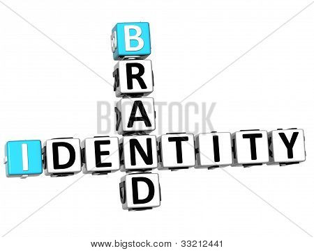 3D Brand Identity Crossword