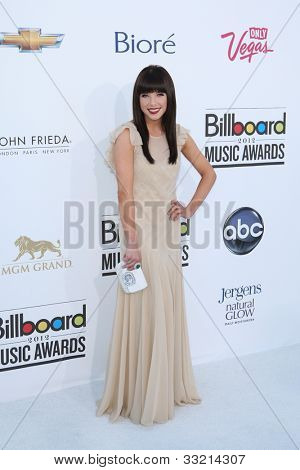 LAS VEGAS - MAY 20: Carly Rae Jepsen at the 2012 Billboard Music Awards held at the MGM Grand Garden Arena on May 20, 2012 in Las Vegas, Nevada