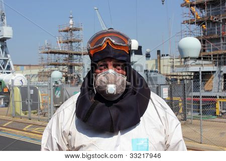 Industrial worker